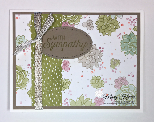 Succulent Garden DSP, Rose Wonder Stamp Set