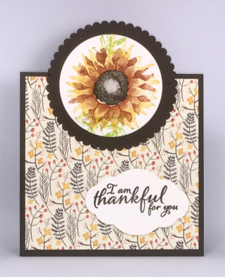 Stampin' Up! Painted Harvest Stamp Set, Painted Autumn Designer Series Paper, Pretty Label Punch