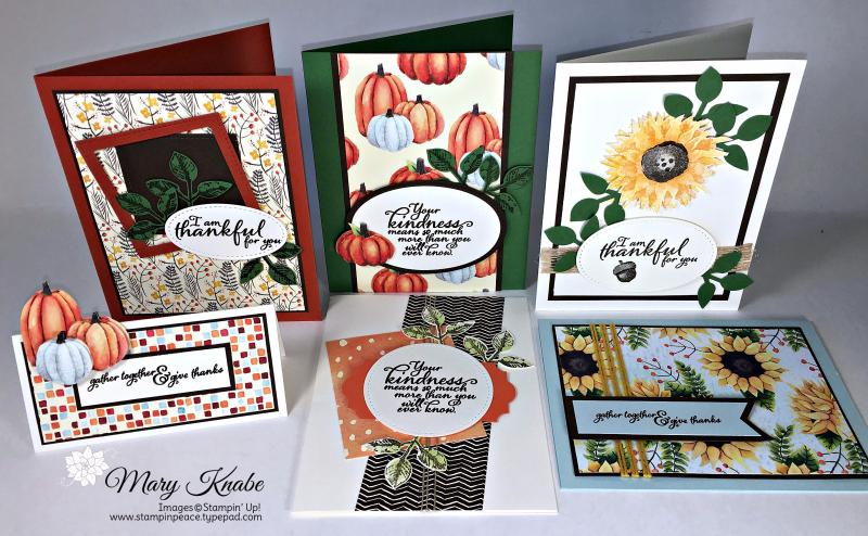 Painted Autumn Designer Series Paper, Painted Autumn Bundle