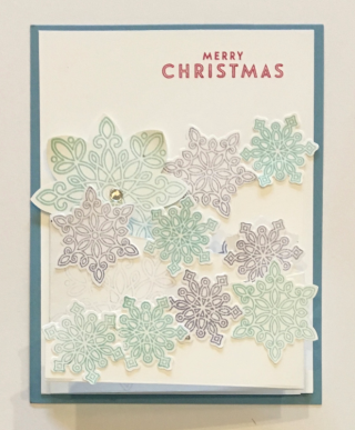 Flurry of Wishes Stamp Set, Snow Flurry Punch