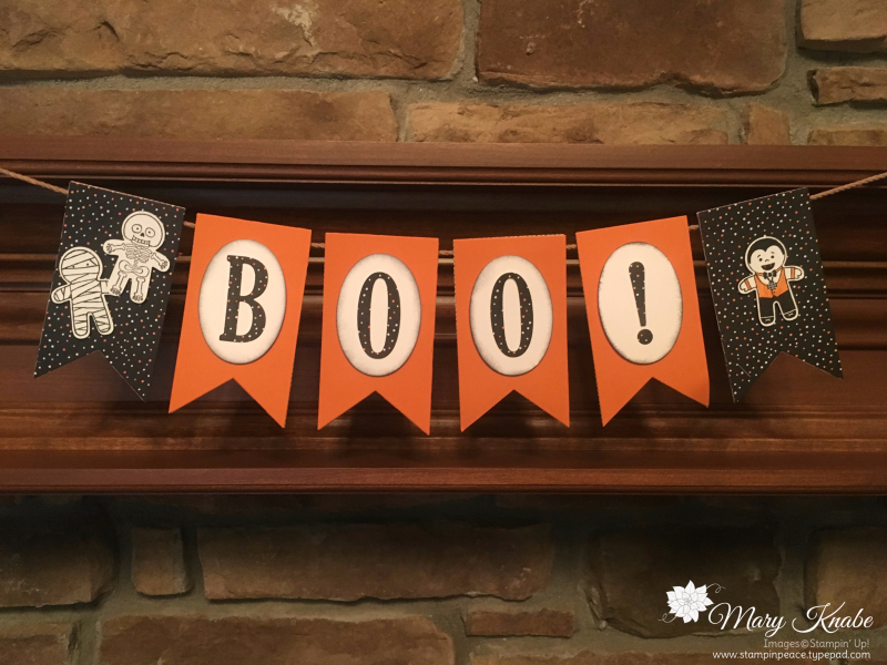 Cookie Cutter Halloween Stamp Set and Cookie Cutter Punch, Banner Framelits, Layering Ovals Framelits, Large Letter Framelits
