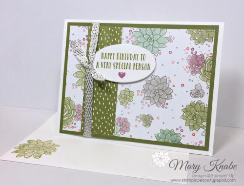 Oh, So Succulent Bundle, Succulent Garden Designer Series Paper