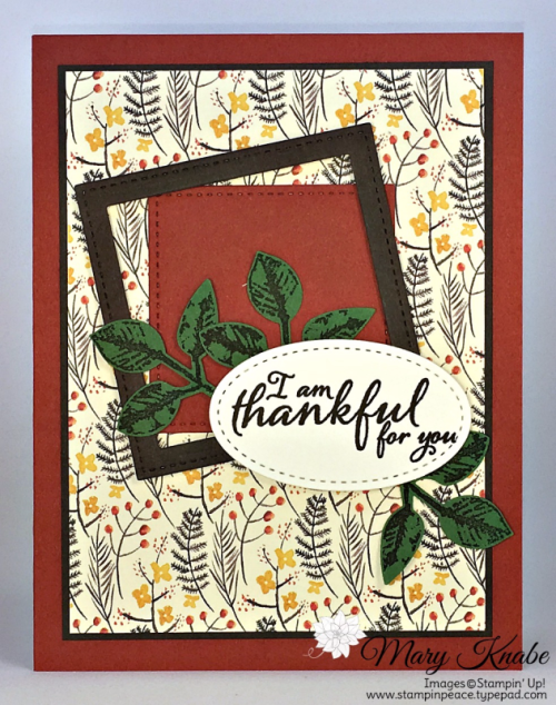 Painted Harvest Bundle with Painted Harvest Stamp Set and Leaf Punch, Painted Autumn Designer Series Paper, Stitched Shapes Framelits Dies