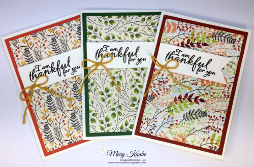 Painted Harvest Stamp Set, Painted Autumn Designer Series Paper, Banner Triple Punch