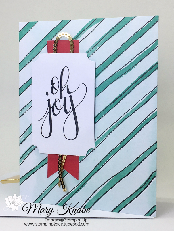 Watercolor Christmas Project Kit, Watercolor Christmas Stamp Set