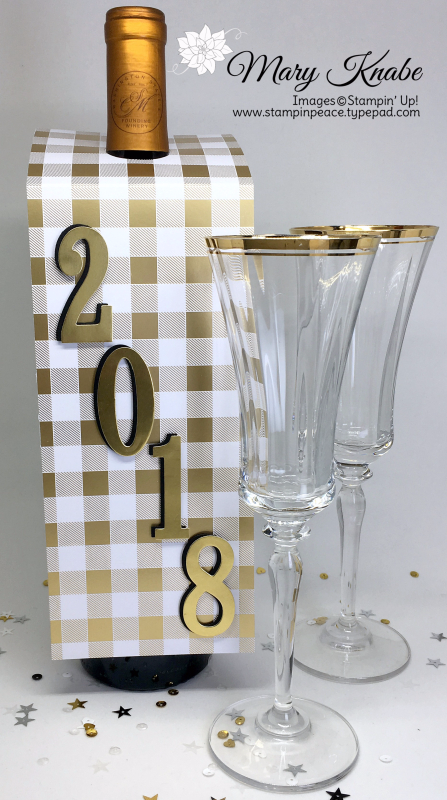 Large Number Framelits Dies, Year of Cheer Specialty Designer Series Paper
