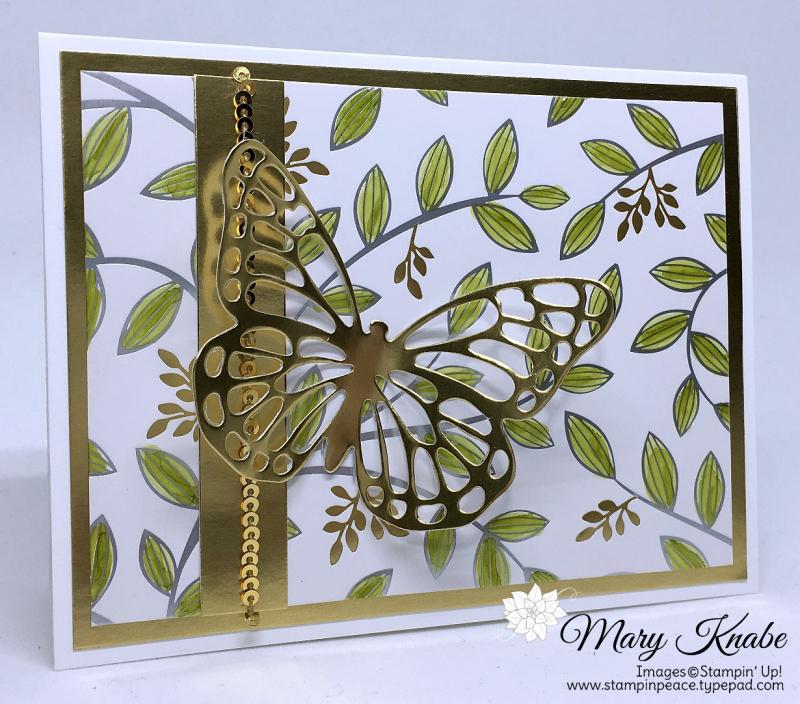 Springtime Foils Specialty Designer Series Paper (2018 SAB), Butterflies Thinlits Dies