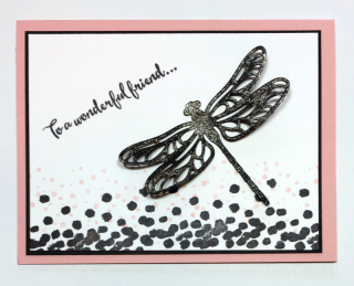 Dragonfly Dreams stamp set, Detailed Dragonfly Thinlits Dies