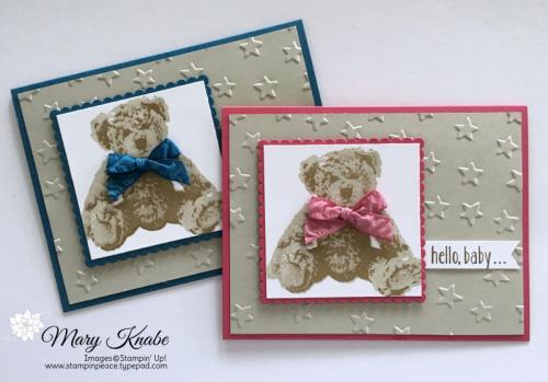 Baby Bear Stamp Set