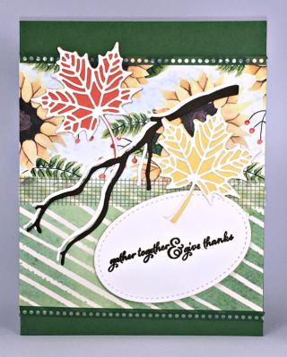 Stampin' Up! Colorful Seasons Bundle, Painted Autumn  Designer Series Paper