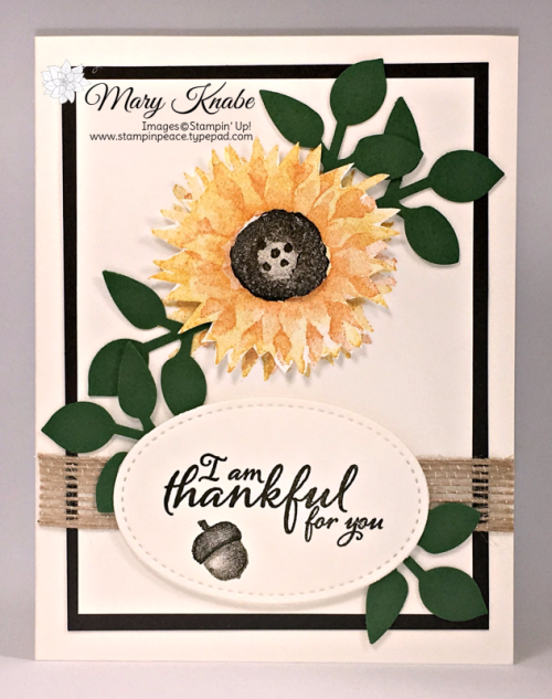 Painted Harvest Bundle with Painted Harvest Stamp Set and Leaf Punch
