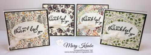 Painted Harvest Stamp Set, Painted Autumn Designer Series Paper, Stitched Shapes Framelits Dies