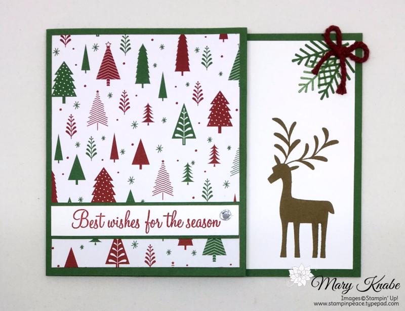 Be Merry Designer Series Paper, Merry Mistletoe stamp set