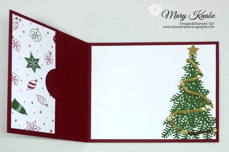 Be Merry Designer Series Paper, Ready for Christmas Stamp Set,
