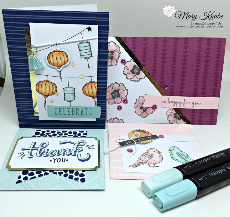 Color Me Happy Stamp Set, Color Me Happy Project Kit, Stampin' Blends