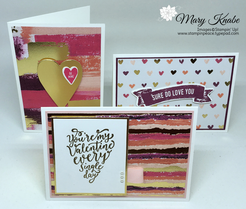 Sure Do Love You Stamp Set, Painted with Love Specialty Designer Series Paper