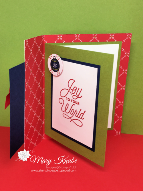 Under the Mistletoe Designer Series Paper, Sincerely Santa Stamp Set