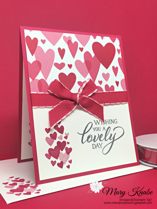 Forever Lovely Stamp Set and All My Love Designer Series Paper by Stampin' Up!