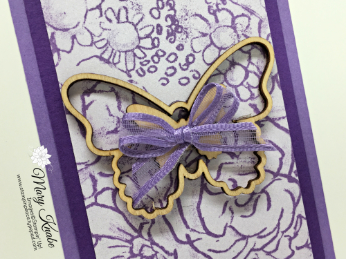 Botanical Butterfly Designer Series Paper & Butterfly Elements from Stampin' Up! 2019 Sale-A-Bration Brochure