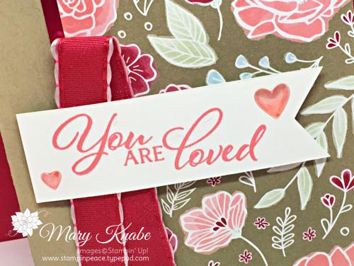 Forever Lovely Stamp Set & All My Love Designer Series Paper
