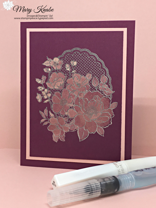 Lovely Lattice Stamp Set by Stampin' Up!