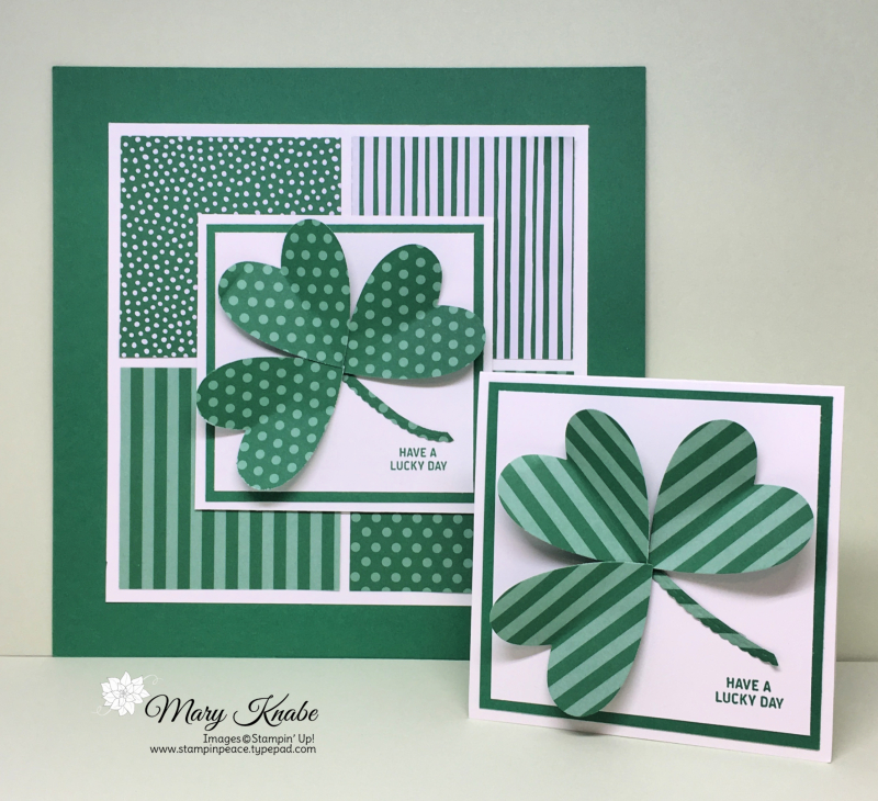 Be Mine Stitched Framelits Dies, 2018-2020 In Colors Designer Series Paper Pack (Call Me Clover)