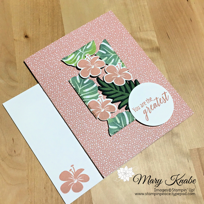 Tropical Chic Stamp Set, Tropical Thinlets Dies, Tropical Escape Designer Series Paper by Stampin' Up!