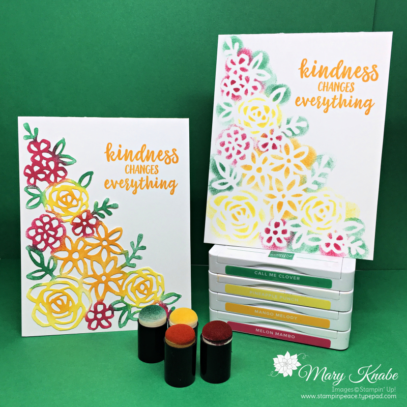 Springtime Impressions Die and Better Together Stamp Set by Stampin' Up!