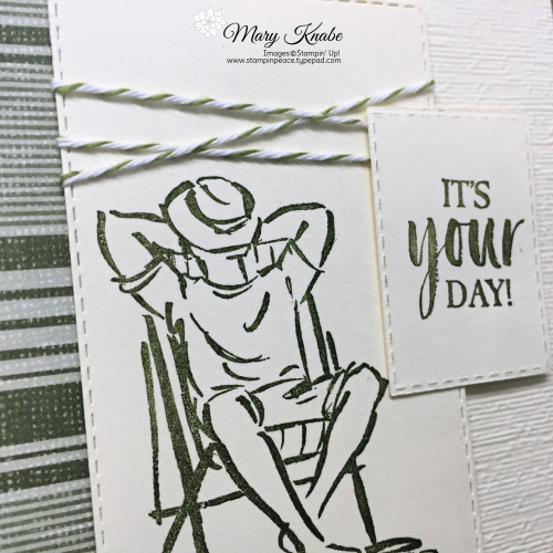 A Good Man Stamp Set & Come Sail Away Designer Series Paper by Stampin' Up!