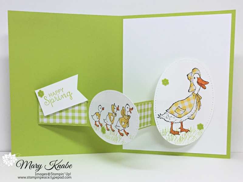 Fable Friends Stamp Set and Gingham Gala DSP Pack by Stampin' Up!