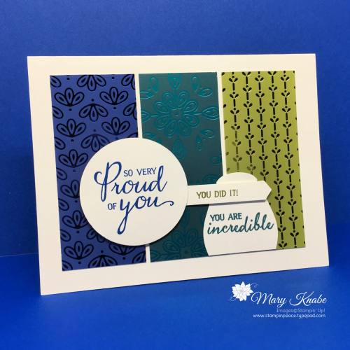 Noble Peacock Specialty Designer Series Paper & Royal Peacock Stamp Set by Stampin' Up!