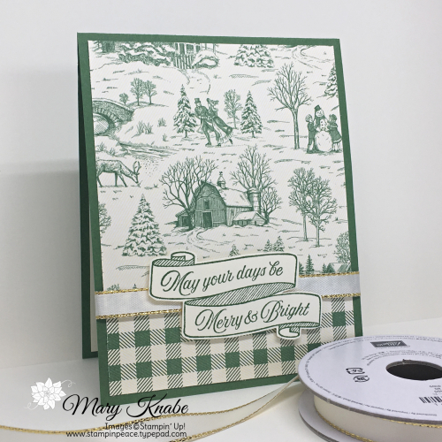 Toile Tidings Bundle & Toile Christmas Designer Series Paper