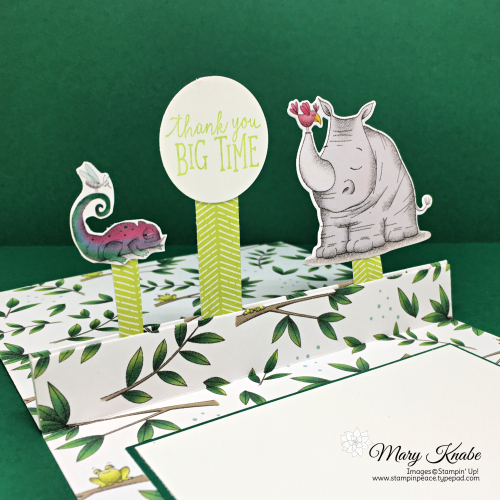 Animal Outing Bundle & Animal Expedition Designer Series Paper by Stampin' Up!