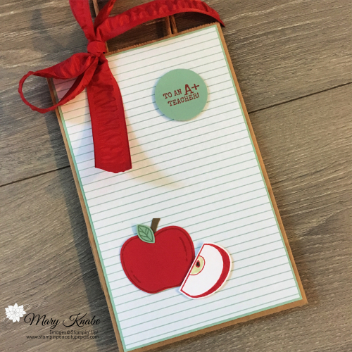 Harvest Hellos Stamp Set & Apple Builder Punch by Stampin' Up!