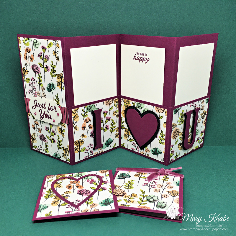 Share What You Love Designer Series Paper, Love What You Do Stamp Set, Broadway Bound Stamp Set, Meant to Be Bundle