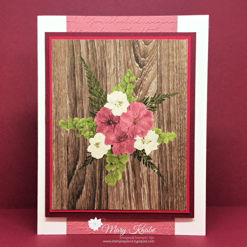 Pressed Petals Suite by Stampin' Up!