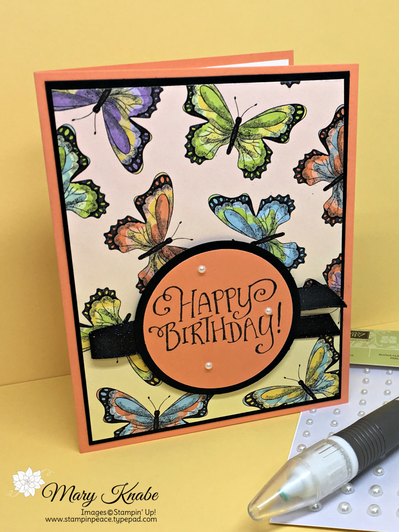 Botanical Butterfly Designer Series Paper & Better Together Stamp Set by Stampin' Up!