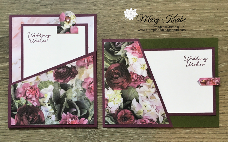 Floral Phrases stamp set and Petal Promenade Designer Series Paper by Stampin' Up!