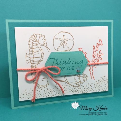 Seaside Notions Stamp Set & Stitched Nested Dies by Stampin' Up!
