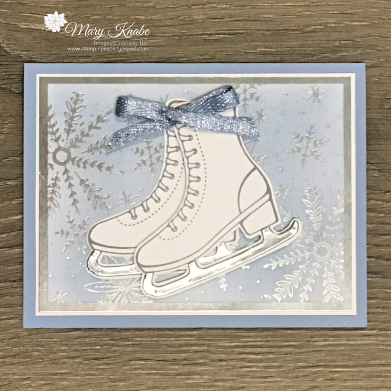 Free Skate Stamp Set, Detailed Skates Dies, Feels Like Frost Specialty Designer Series Paper