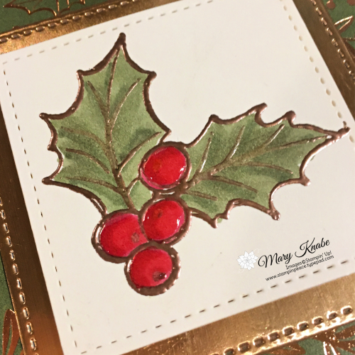 Christmas Gleaming Stamp Set, Brightly Gleaming Specialty Designer Series Paper, & Stitched Shapes Dies by Stampin' Up!