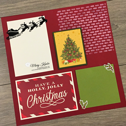 Night Before Christmas Memories & More Card Pack by Stampin' Up!