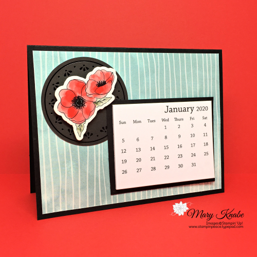 Peaceful Poppies Designer Series Paper & Peaceful Poppies Elements by Stampin' Up!