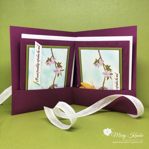 Butterfly Wishes stamp set by Stampin' Up!