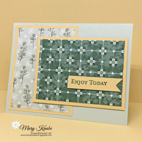 Garden Lane Designer Series Paper & Good Morning Magnolia Stamp Set by Stampin' Up!