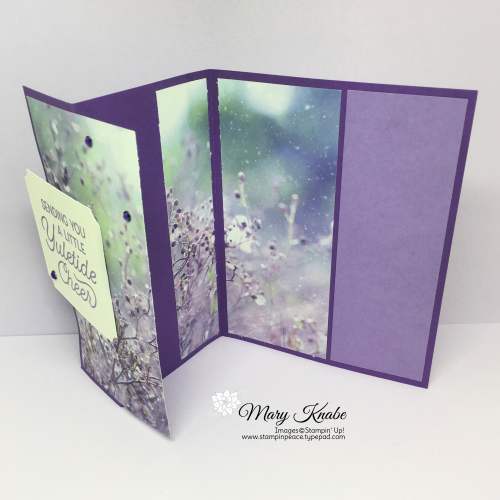 Frosted Foliage Stamp Set, Frosted Frames Dies, & Feels Like Frost Specialty Designer Series Paper by Stampin' Up!