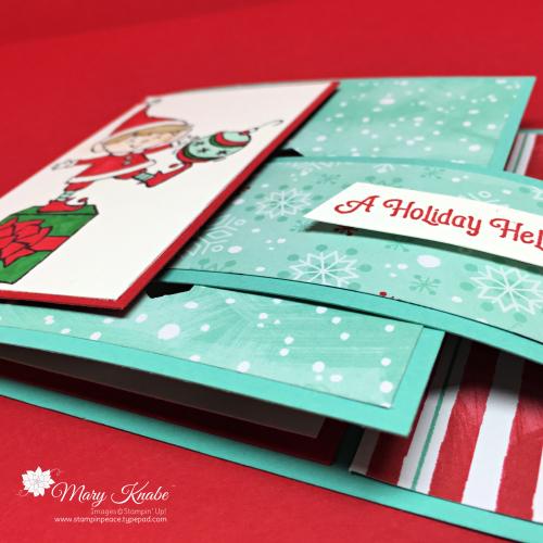#Elfie Stamp Set & Let It Snow Specialty Designer Series Paper by Stampin' Up!