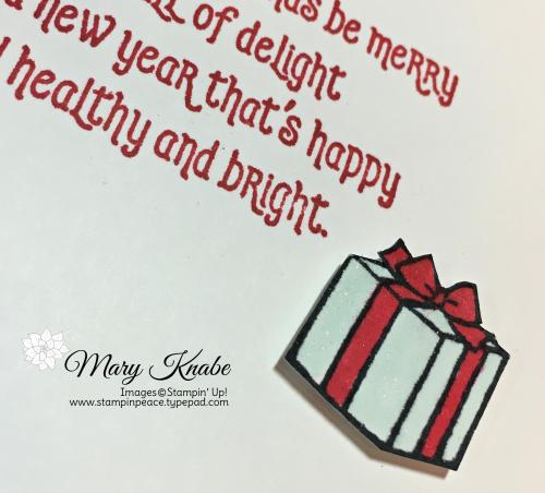 #Elfie Stamp Set & Let It Snow Specialty Designer Series Paper