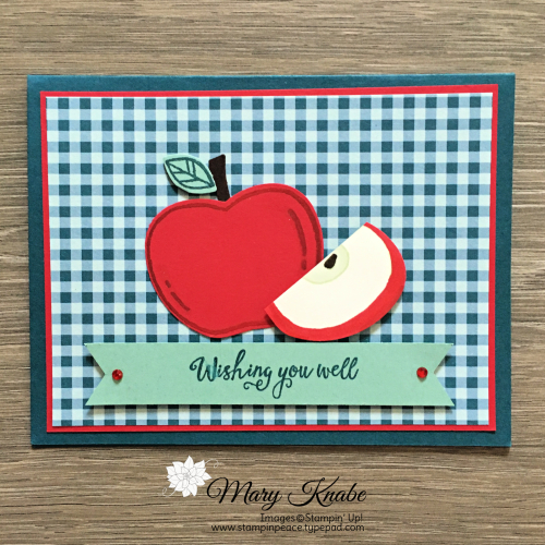 Harvest Hellos, Apple Builder Punch, and Come to Gather Designer Series Paper by Stampin' Up!