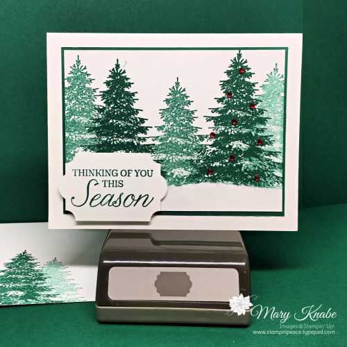 Winter Woods Stamp Set & Everyday Label Punch by Stampin' Up!